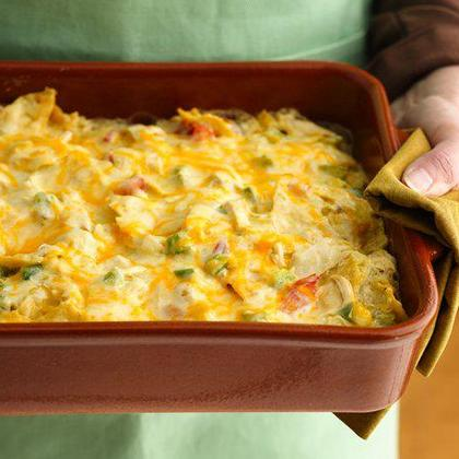 recipe: mexican casserole with tortilla chips [40]