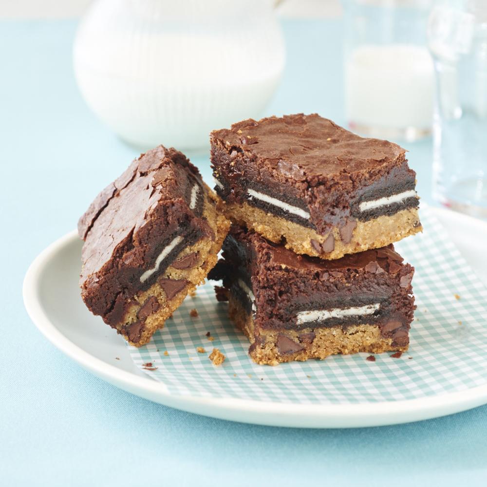 Slutty Brownies Recipe Myrecipes