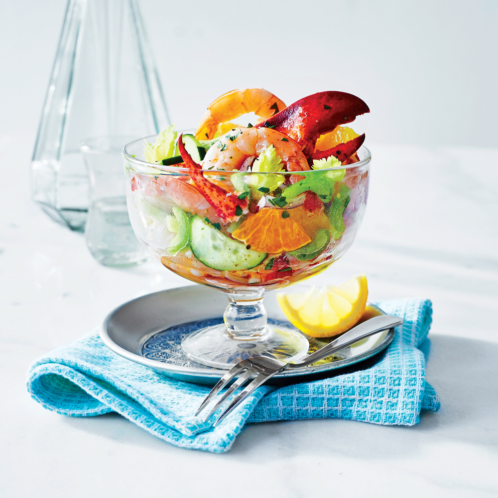 Citrusy Seafood Salad