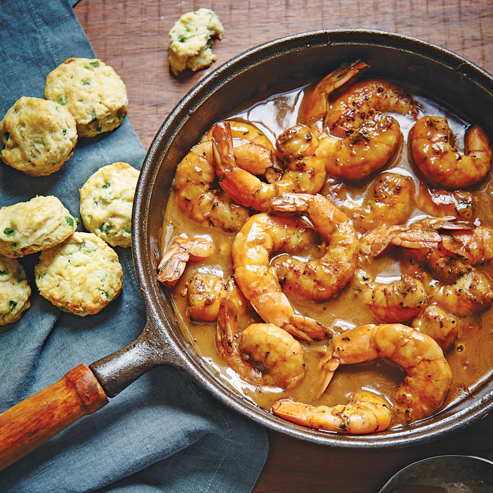 Easy Barbecue Shrimp Recipe | MyRecipes.com