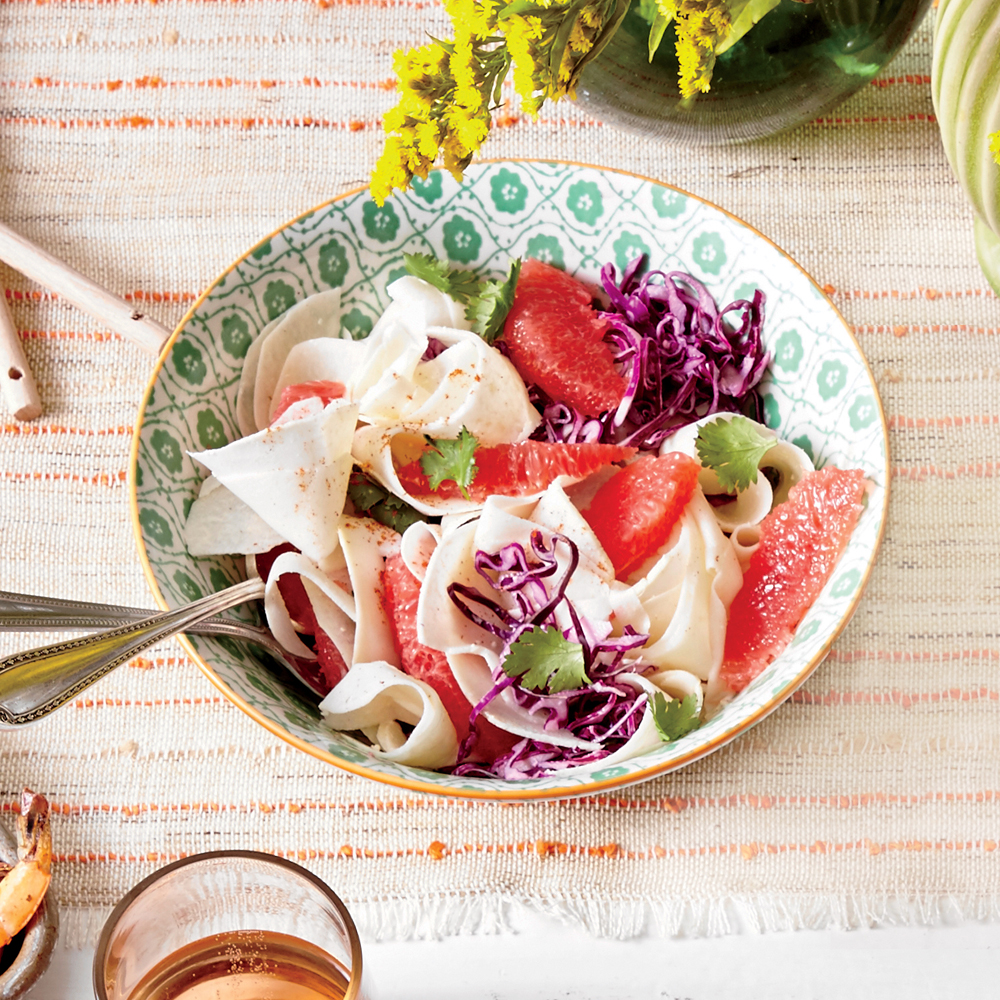 Jicama-and-Grapefruit Slaw with Creamy Lime Dressing