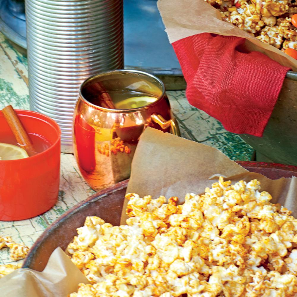 Smoky Barbecue Popcorn Recipe | MyRecipes