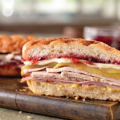 Hot and Sweet Cubano Sandwich