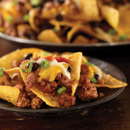Perfect Day Pork & Black Bean Nachos