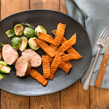 Sweet Molasses Marinated Pork Tenderloin