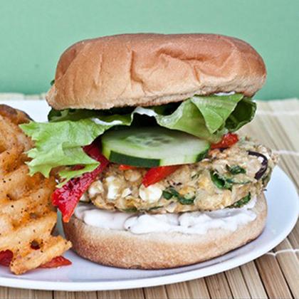 Big Fat Greek Veggie Burgers