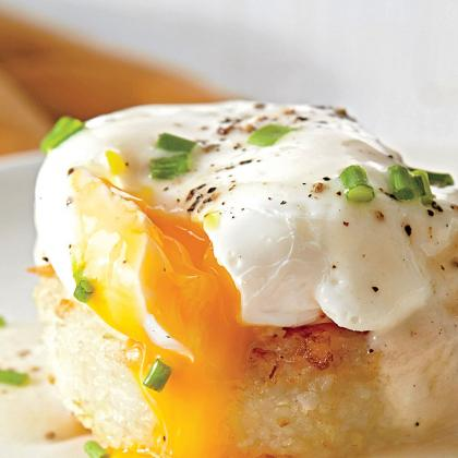 Poached Eggs from Southern Living