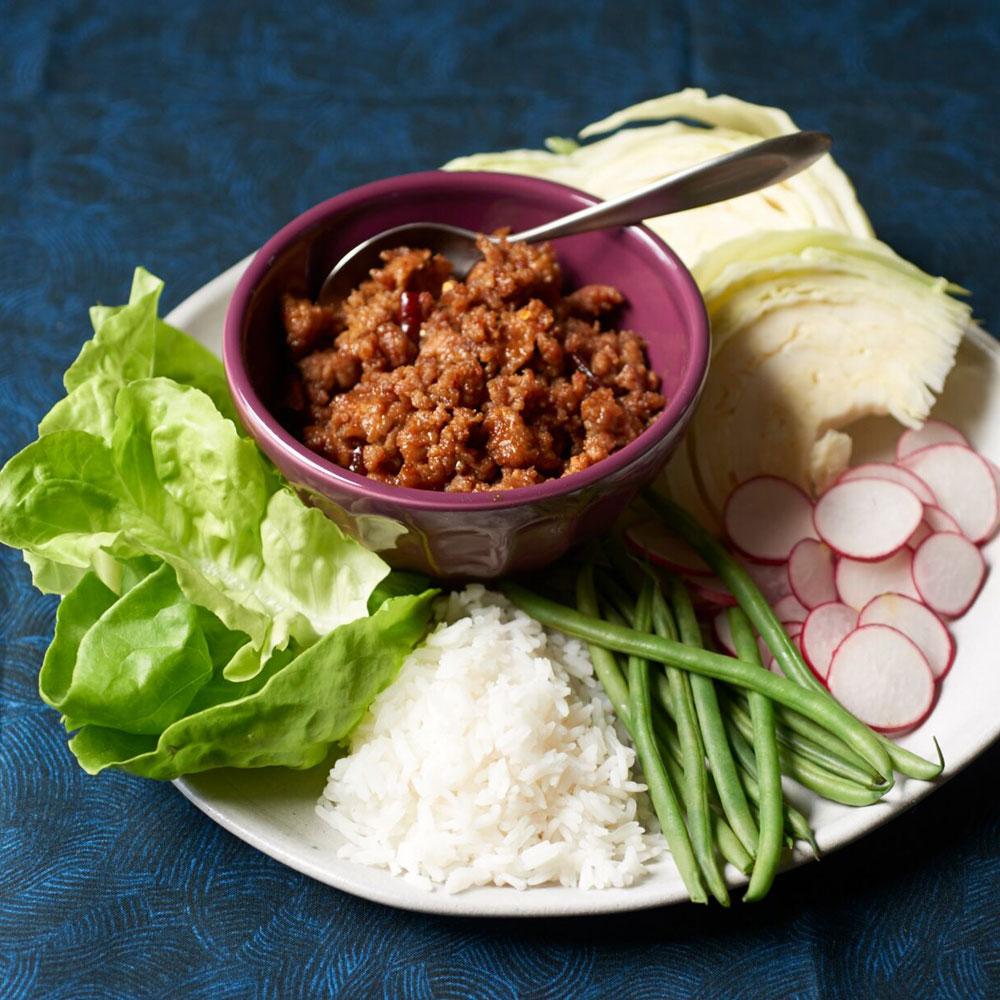 Coconut Milk and Prahok Dipping Sauce