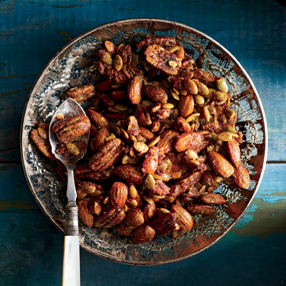 Brown Sugar Spiced Nut Mix Recipe Myrecipes