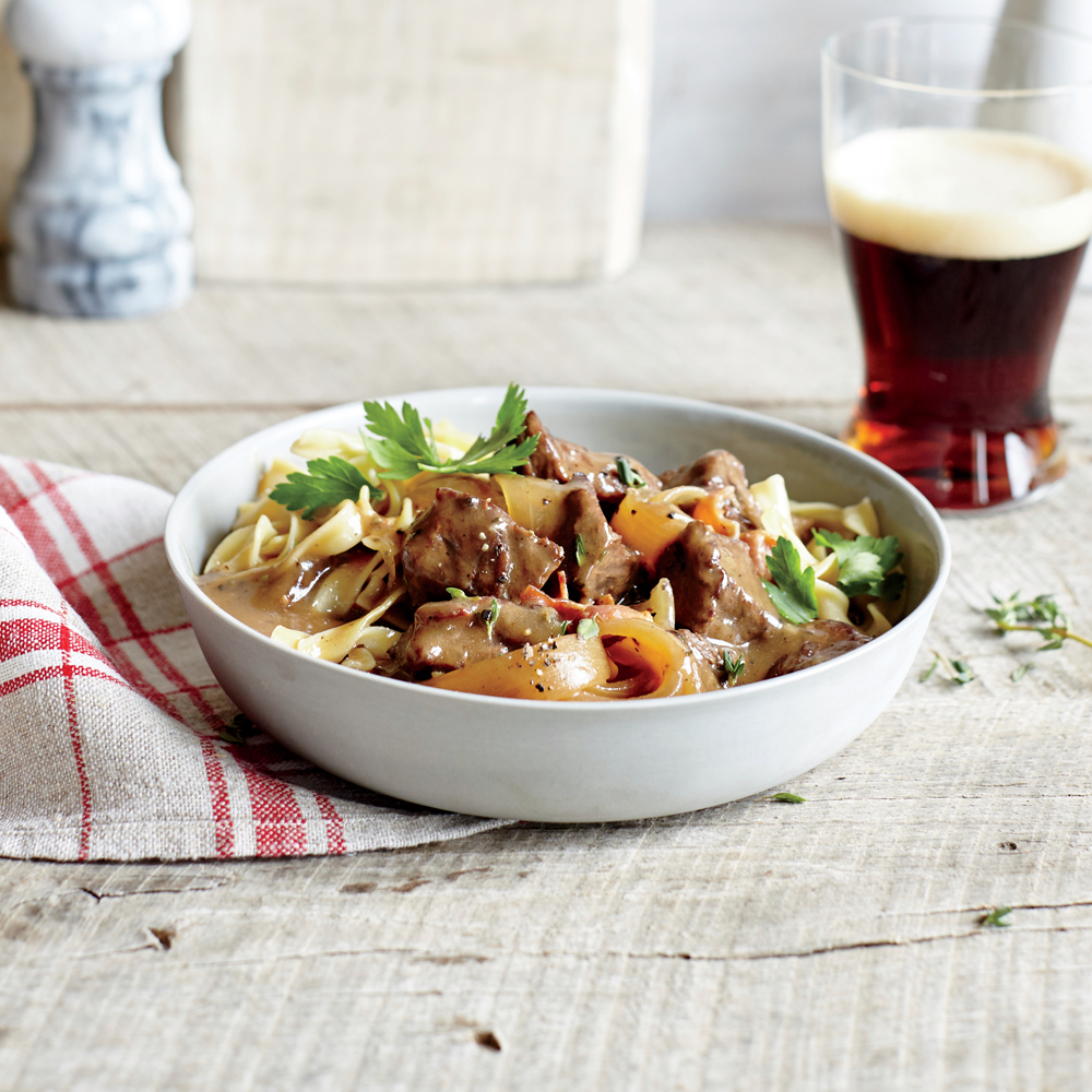 Flemish Beef and Beer Stew Recipe | MyRecipes