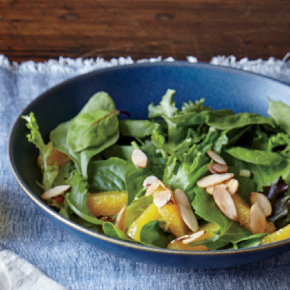 Orange and Almond Salad