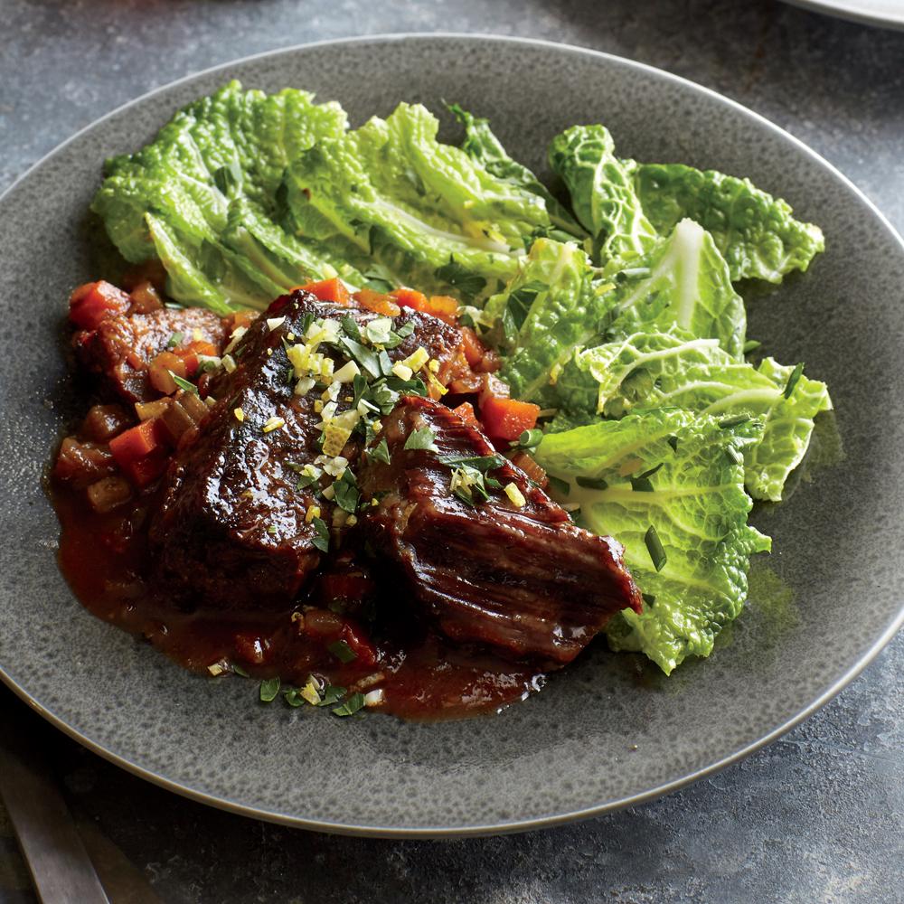 Red Wine-Braised Beef