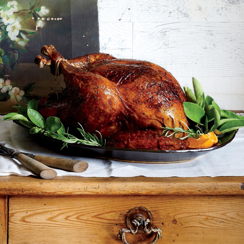 Rosemary-Orange Roast Turkey