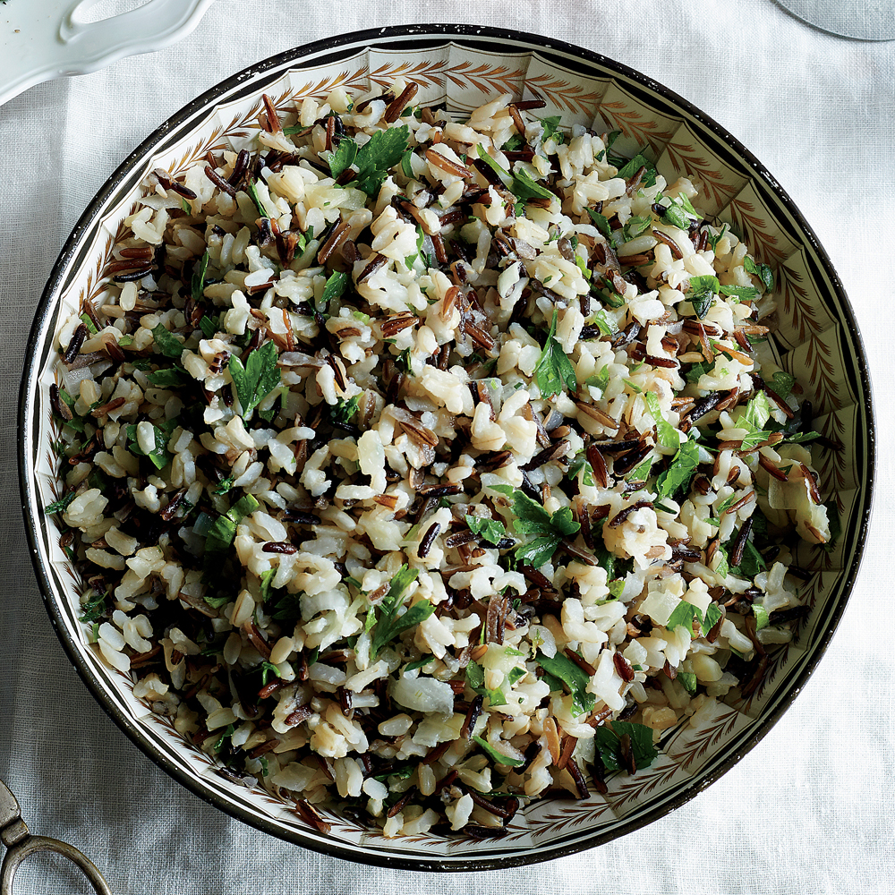 Supersavory Wild Rice Pilaf