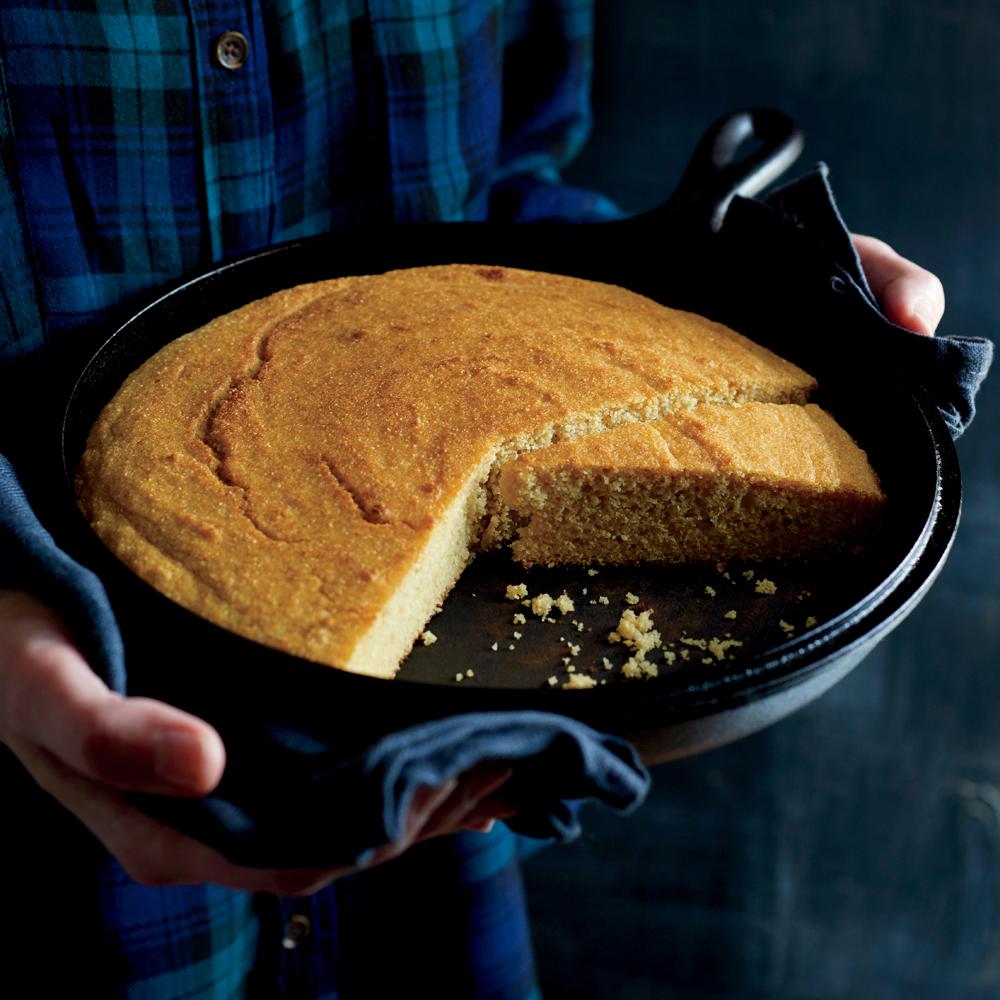 Whole-Grain Corn Bread