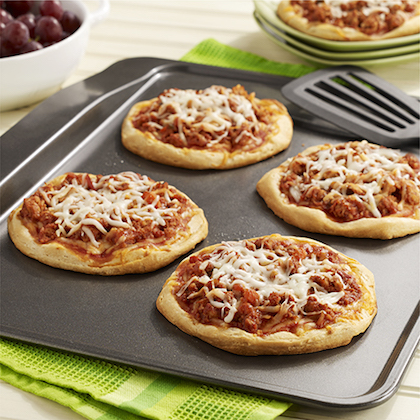 Sloppy Joe Mini Pizzas