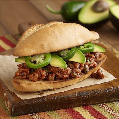 Sloppy Jose Luis Sandwiches