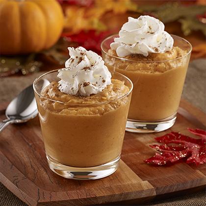 Pumpkin Spice Pudding Dessert