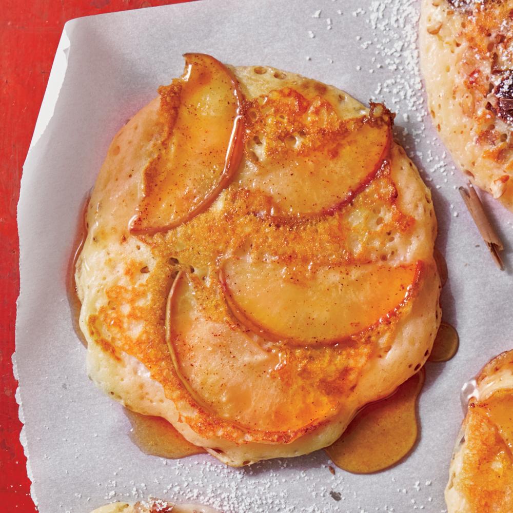 Apple-Spice Pancakes