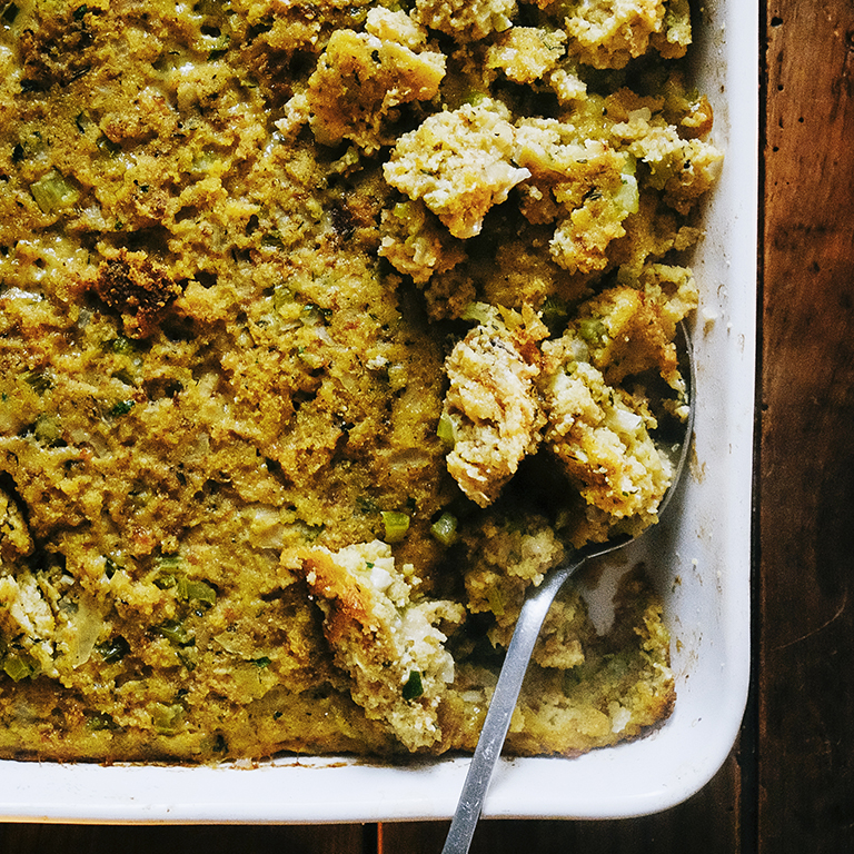 Buttermilk Cornbread Stuffing
