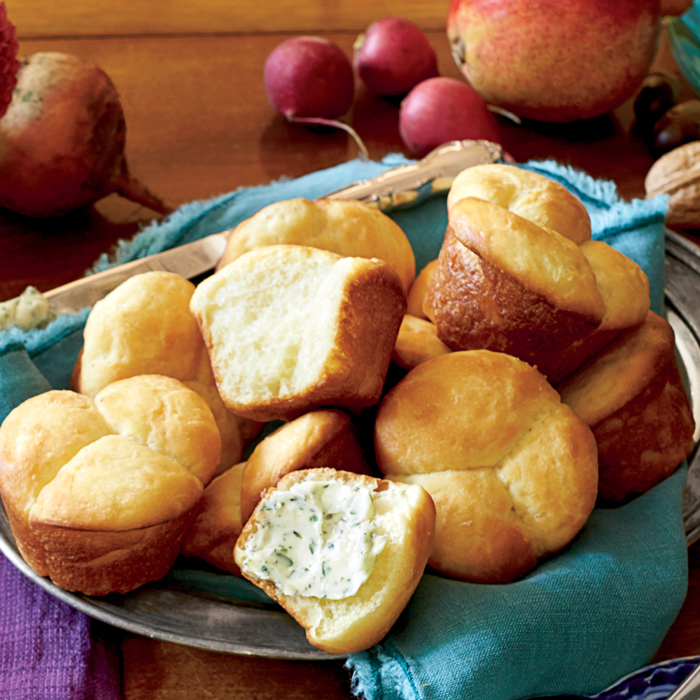 Easy Butter Rolls