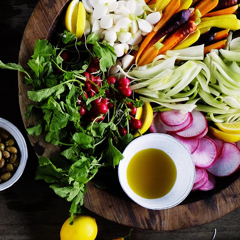 Garden Vegetable Platter