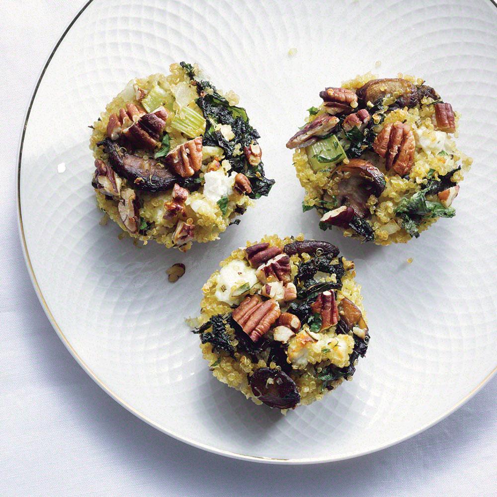 Kale-Quinoa Stuffing