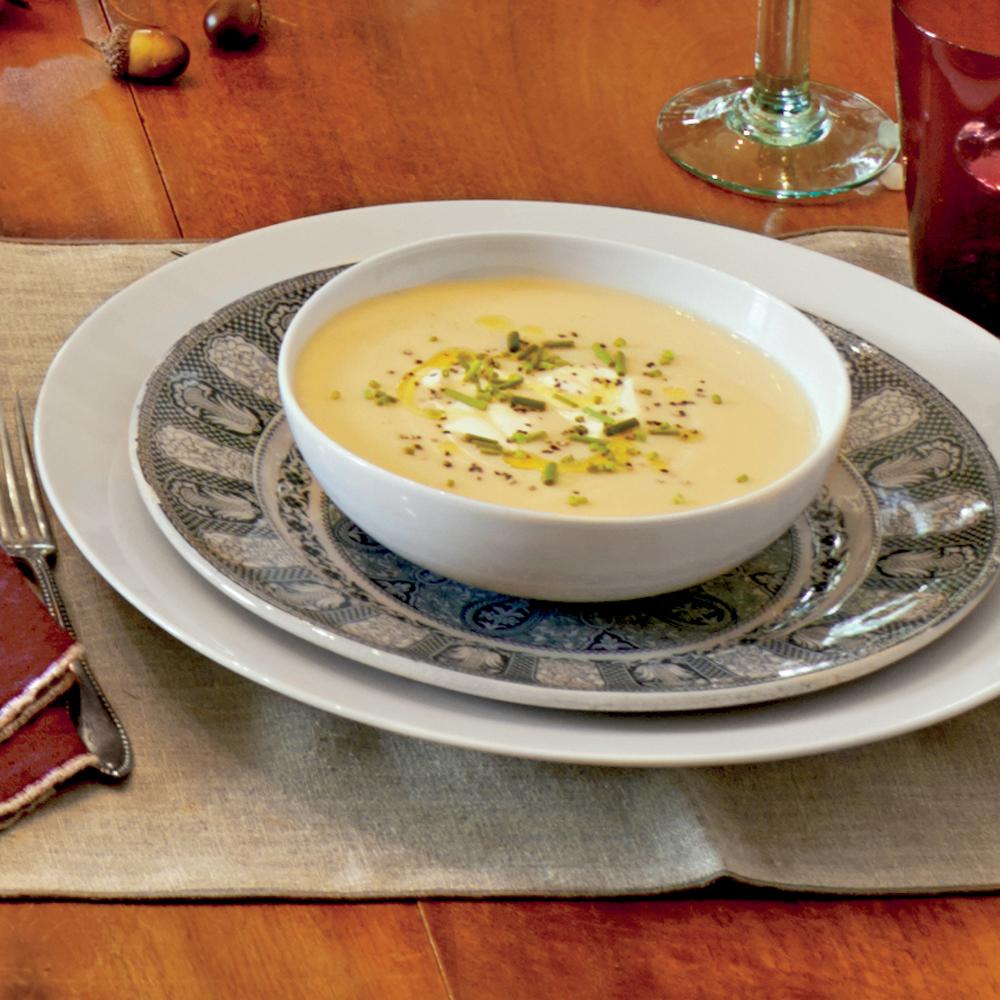 Parsnip-Potato Soup Recipe