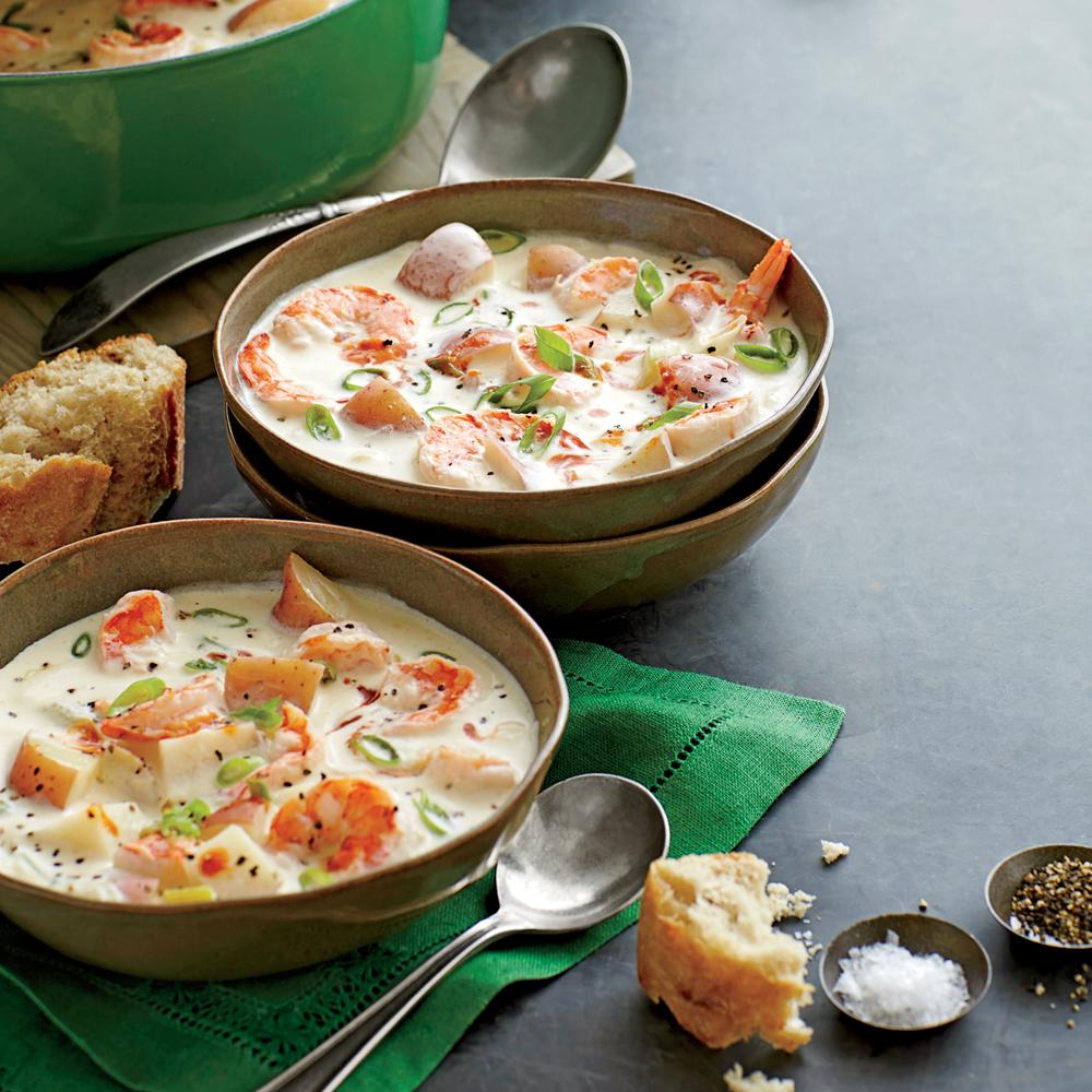 Shrimp-and-New Potato Chowder