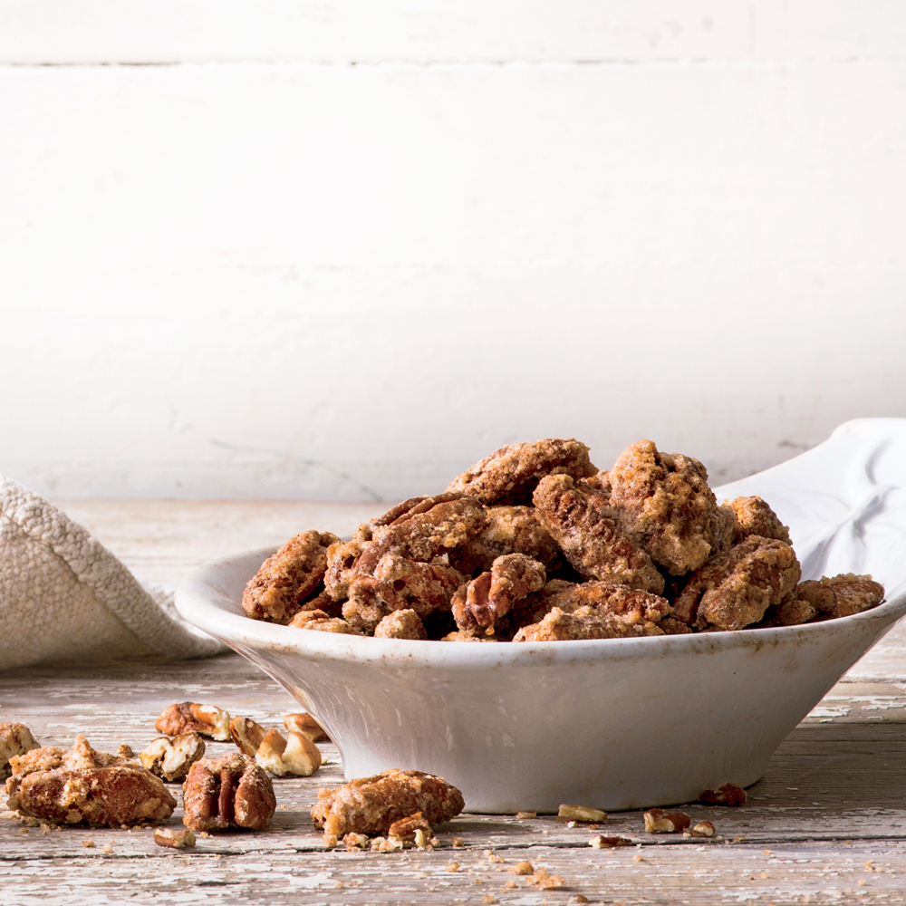 Spicy-Sweet Pecans