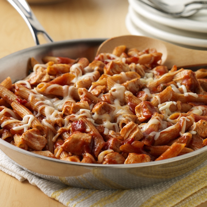 Savory Chicken and Pasta Skillet