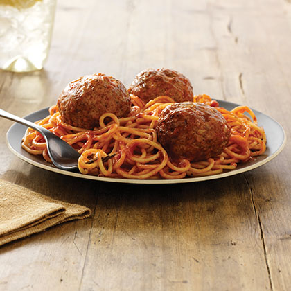 Spaghetti and Italian Meatballs