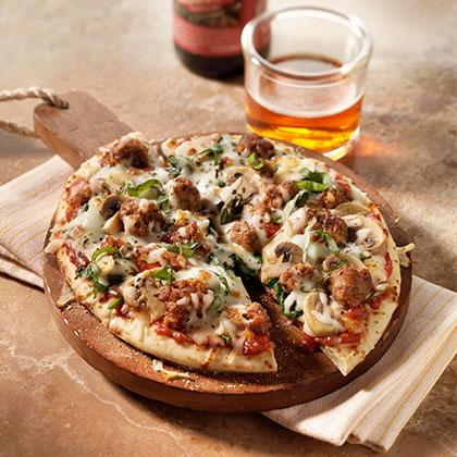 Sausage Florentine Pizza