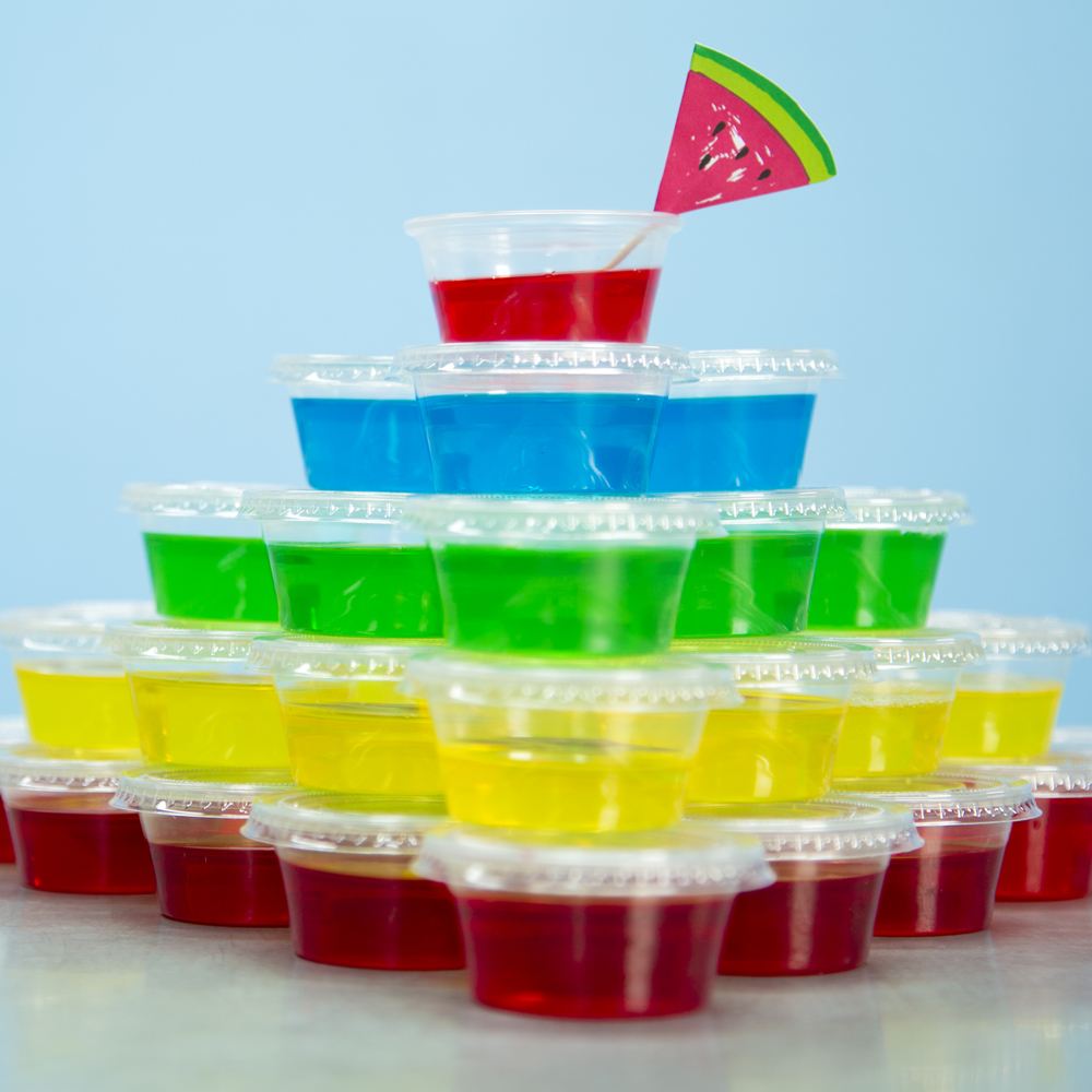 Basic Jello Shots Recipe