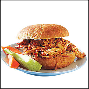 Slow-Cooker Barbecue Chicken