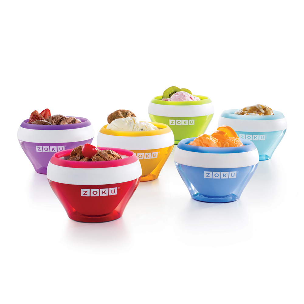 Ice Cream MakerIf you have an ice cream fan on your list, this Ice cream Maker from Zoku is the gift to give. It allows you to make individual portions of ice cream, frozen yogurt, gelato, and more in just 10 minutes.
