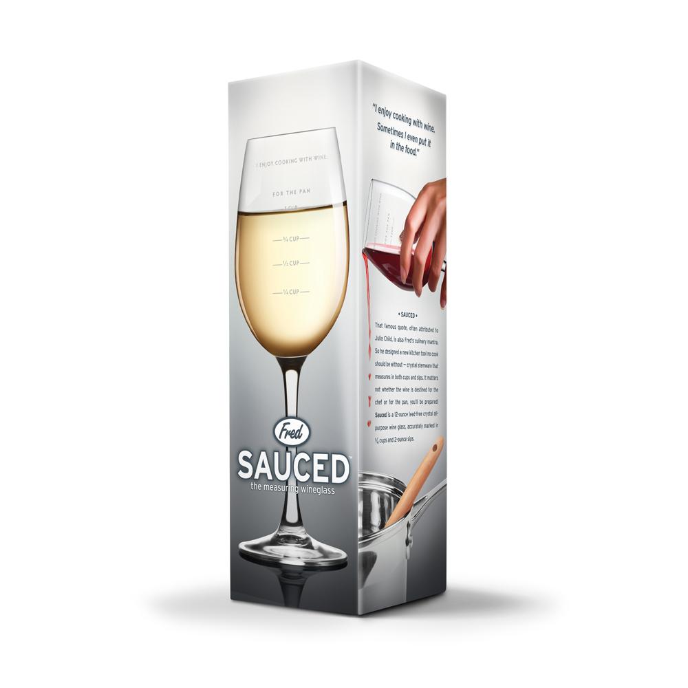 Measuring Wine Glass