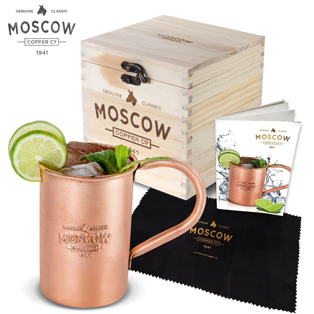 Moscow Copper Co. Original Moscow Mule Mug