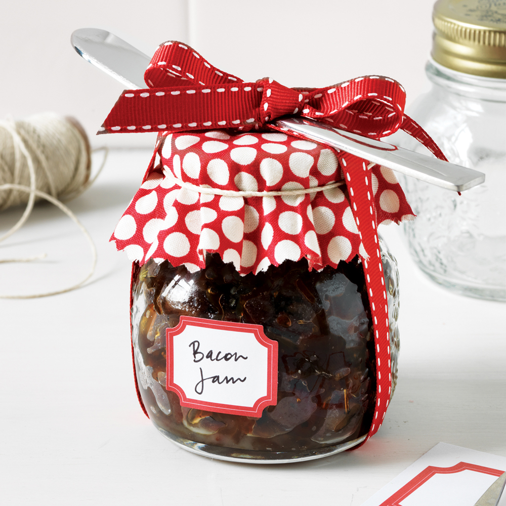 This crowd-pleasing savory condiment is fantastic on crackers and sandwiches and makes a great gift for any bacon lovers on your list. Bacon Jam