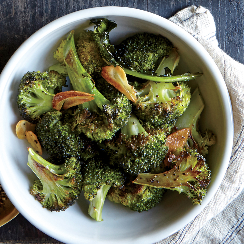 Roasted Broccoli with Garlic and Lemon Recipe | MyRecipes