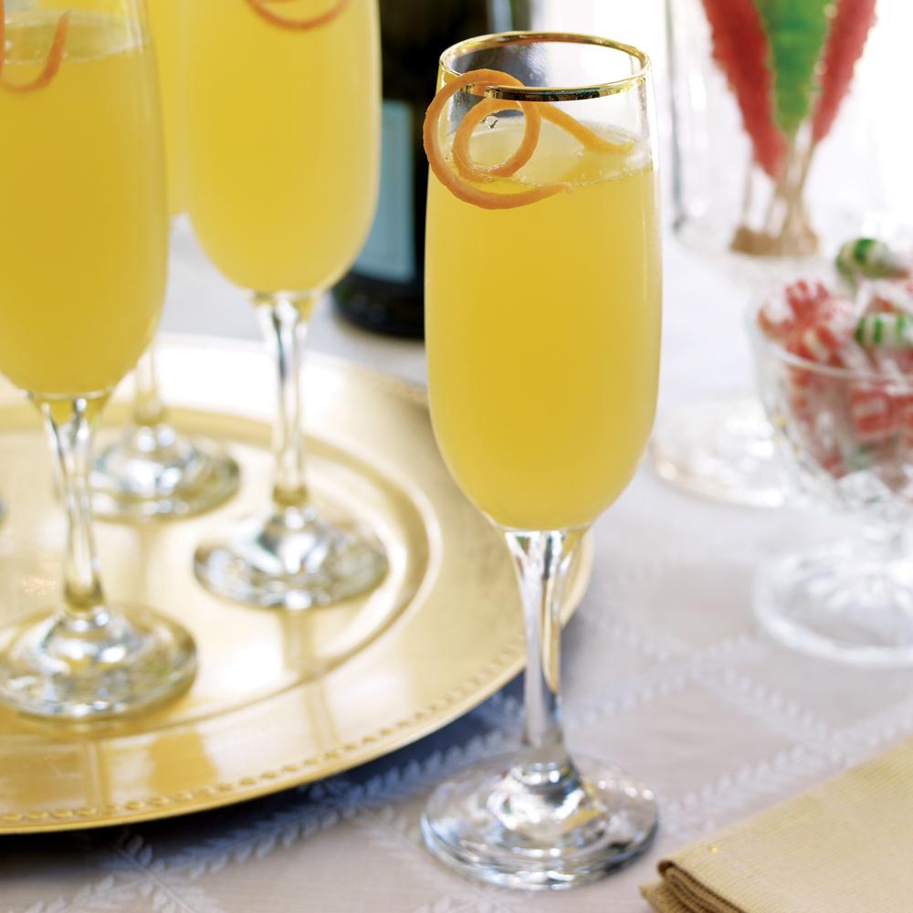 Sparkling Citrus Cocktail