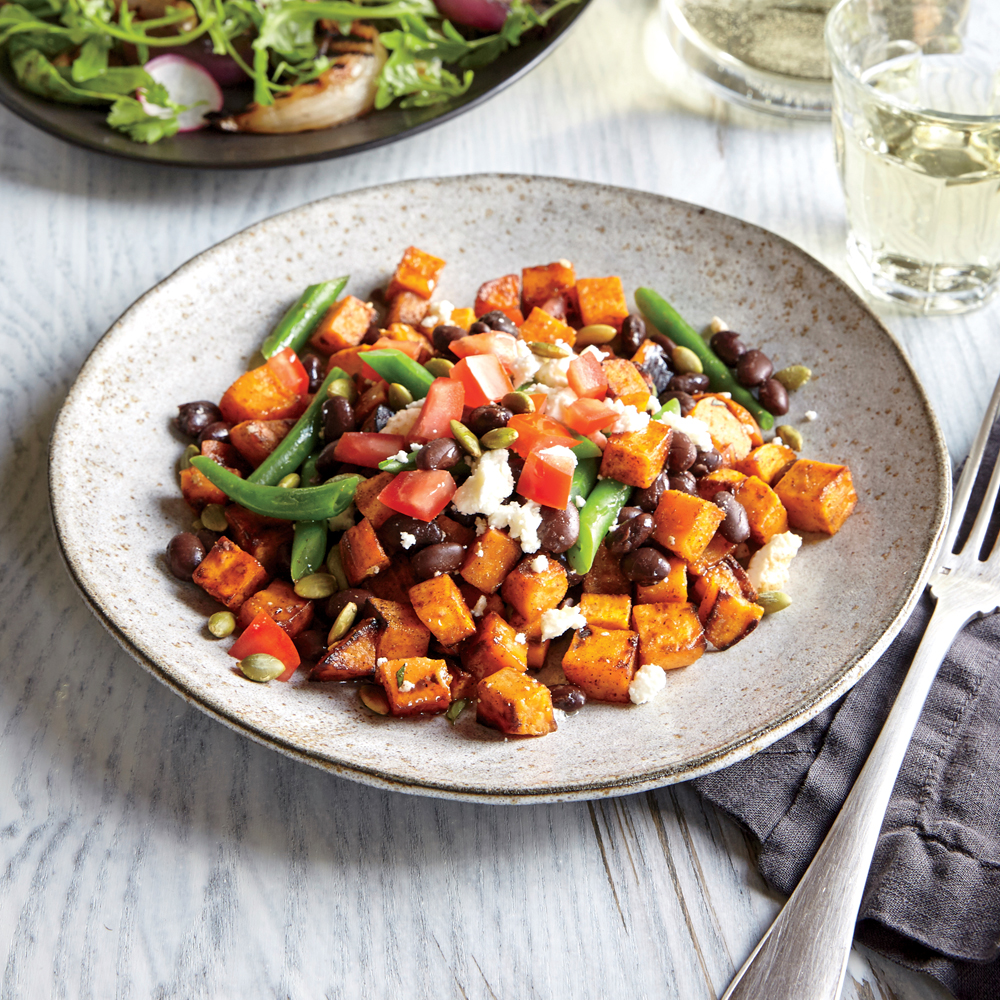Spicy Veggie Hash