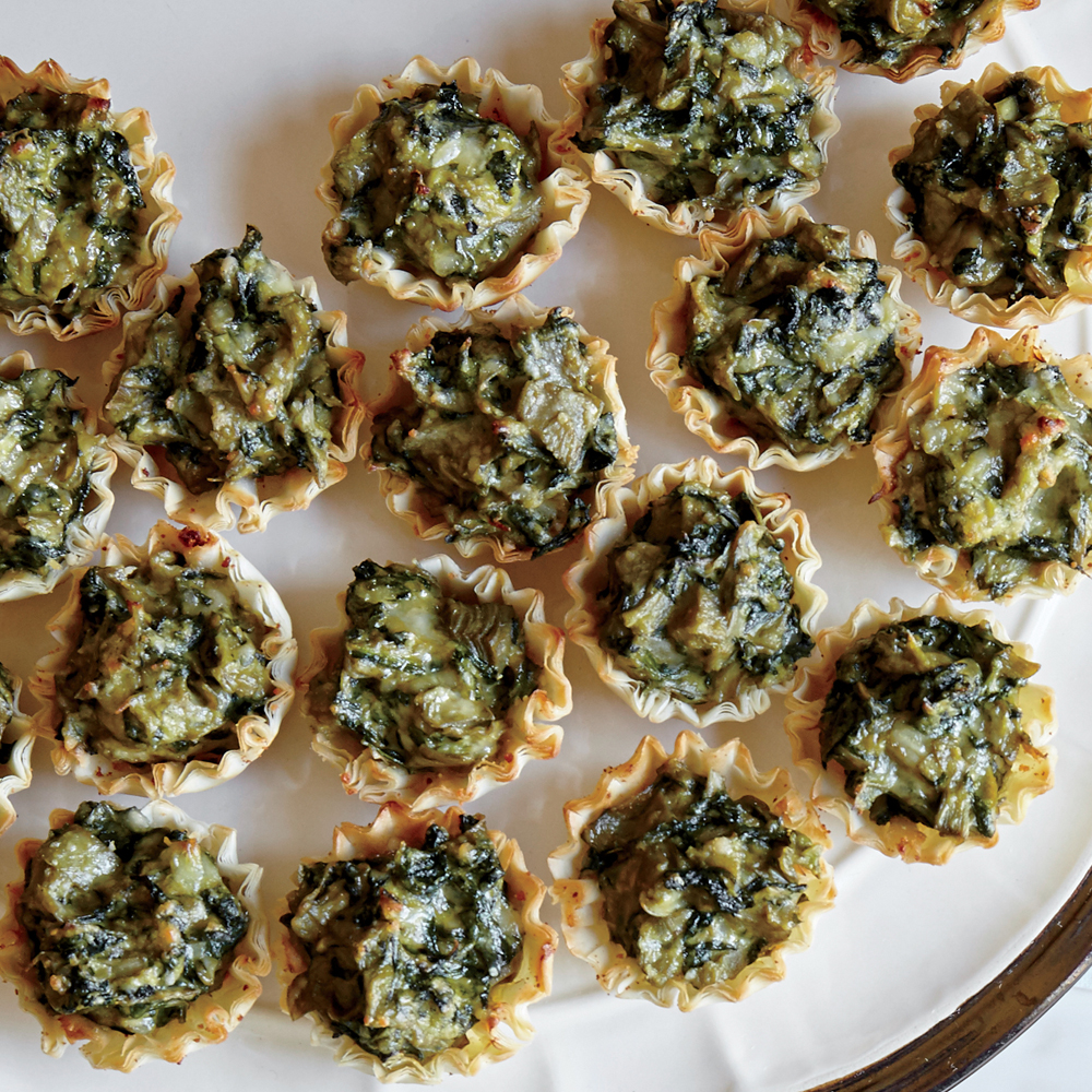 Spinach-Artichoke Bites