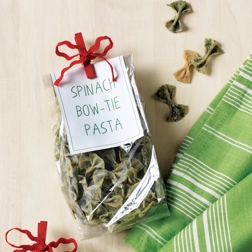 Spinach Bow-Tie Pasta