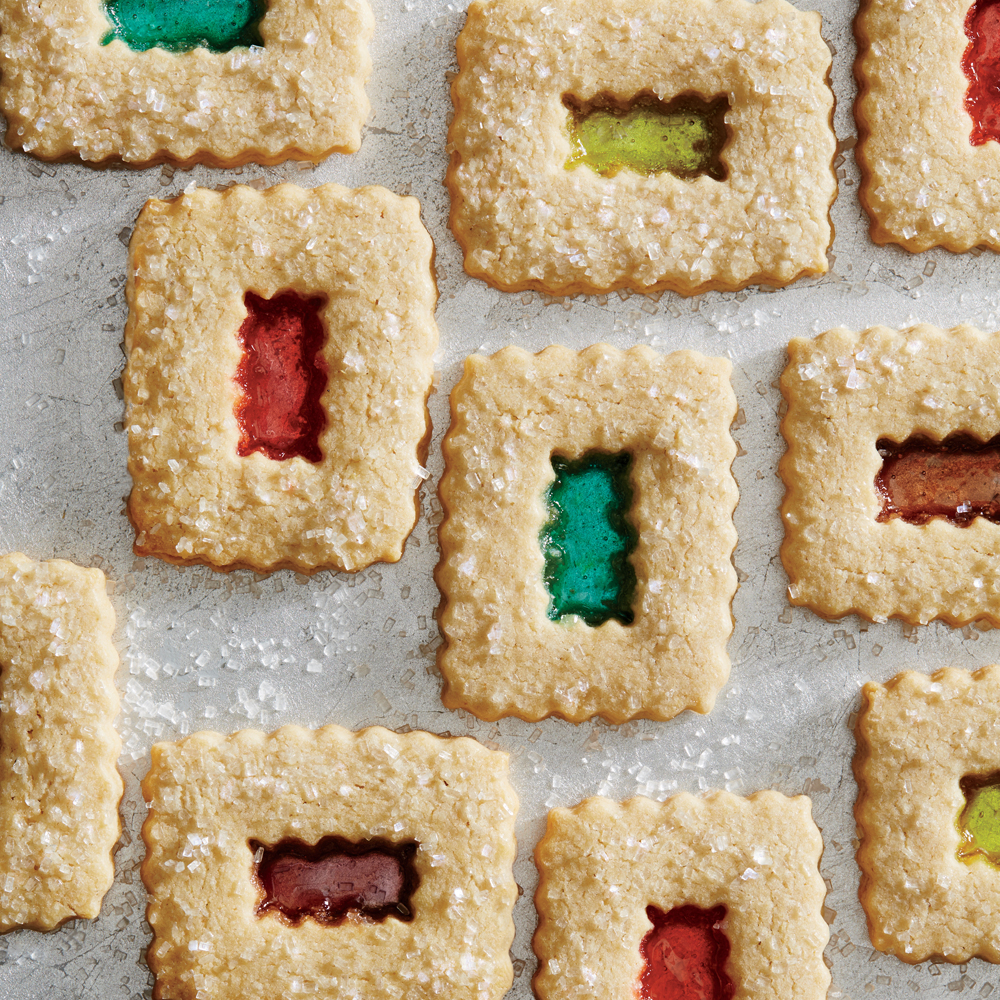 Stained Glass Window Cookies Recipe | MyRecipes