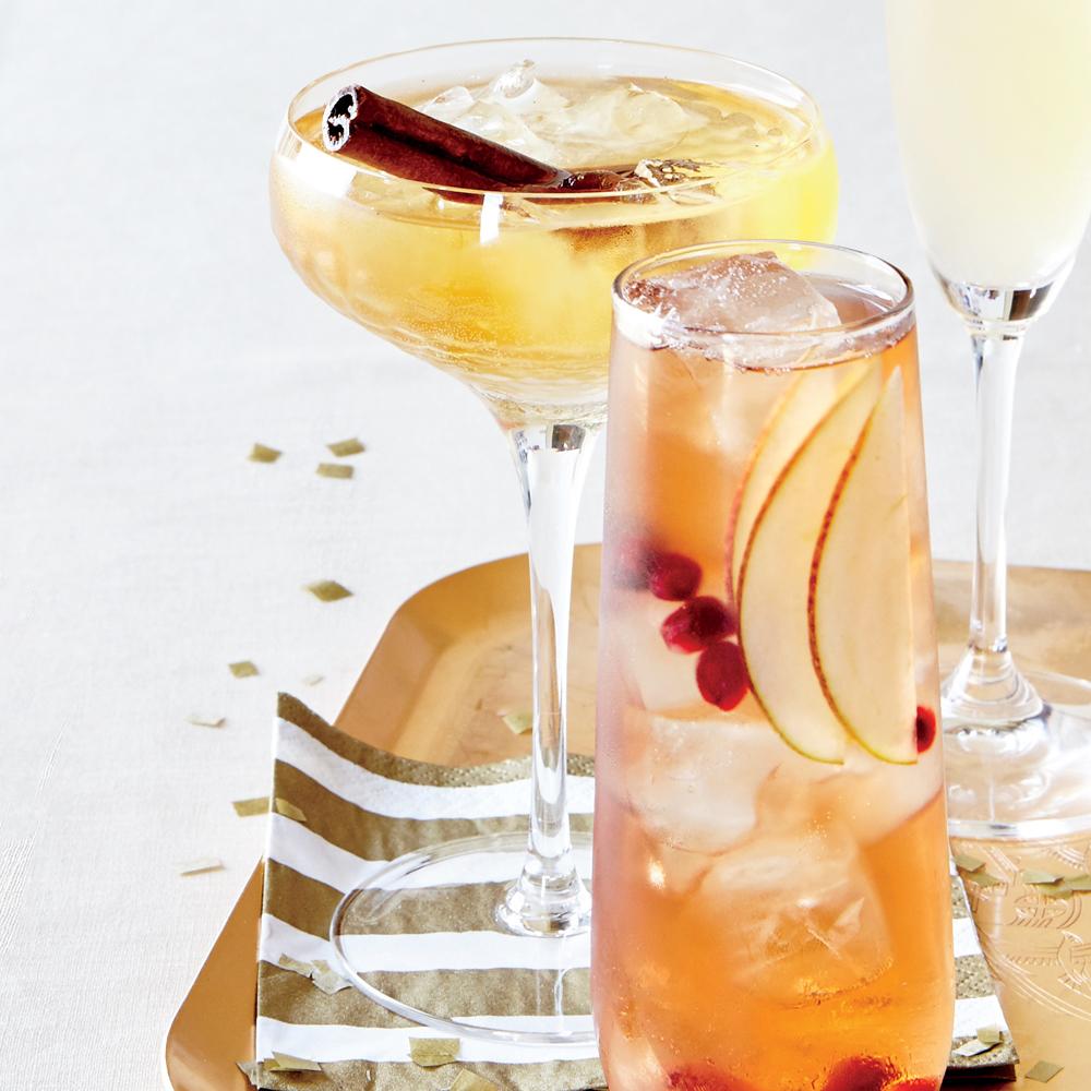 Vanilla-Fig Champagne Sparkler