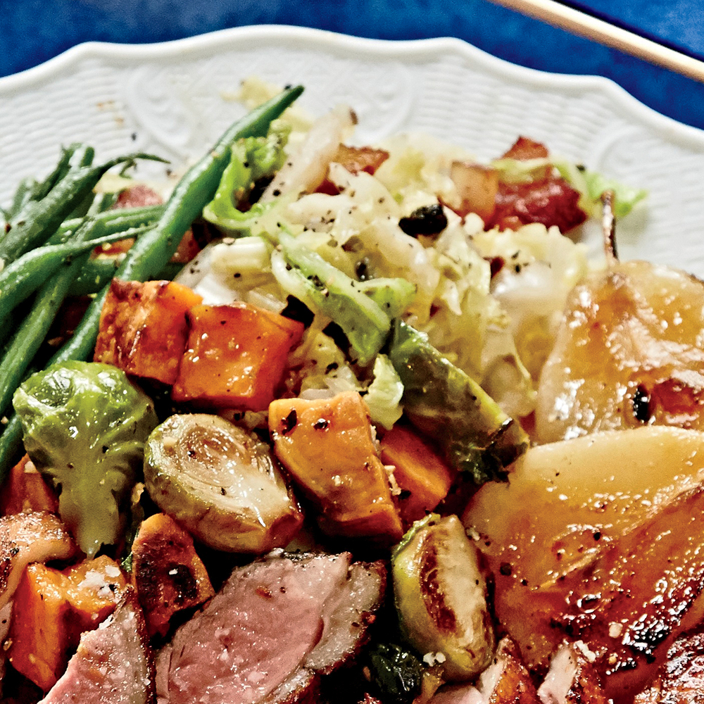 Sautéed Cabbage & Currants