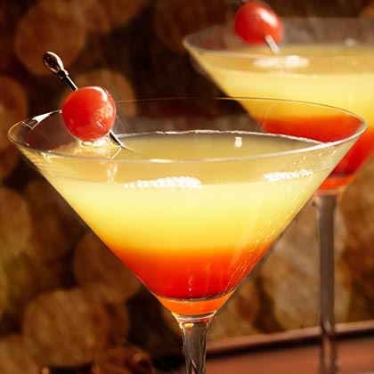 Pineapple Upside-Down Cake Cocktail