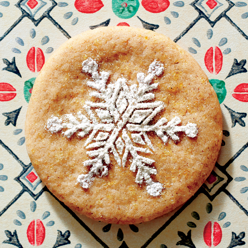 These perfectly spiced cookies get a finishing touch from a beautiful design on top. Place a stencil or doily over the cooled cookies before dusting them with powdered sugar. Belgian Spice Cookies Recipe