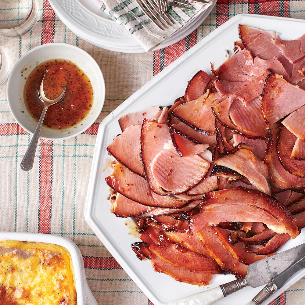 Holiday Ham with Apricot Glaze